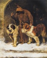 St._Bernards_-_To_The_Rescue_by_John_Emms_(artist)[1]